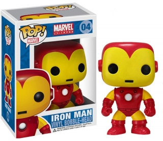 Marvel Comics POP! - bobble head Iron Man 10 cm
