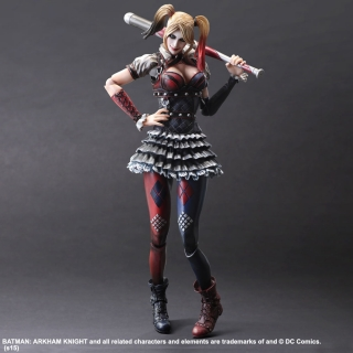 Batman Arkham Knight - figúrka Play Arts Kai Harley Quinn 25 cm