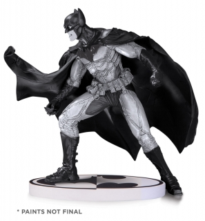 Batman Black & White - soška Batman (Lee Bermejo) 2nd Edition 17 cm
