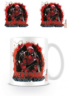 Deadpool - hrnček Smoking Gun 0,33l