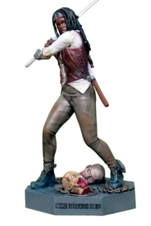 The Walking Dead - figúrka Collector´s Models #3 Michonne 9 cm