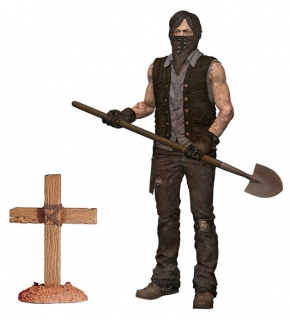 The Walking Dead - figúrka series 9 Grave Digger Daryl Dixon Dirt Ver. 15 cm