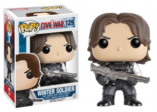 Captain America Civil War POP! - bobble head Winter Soldier 10 cm