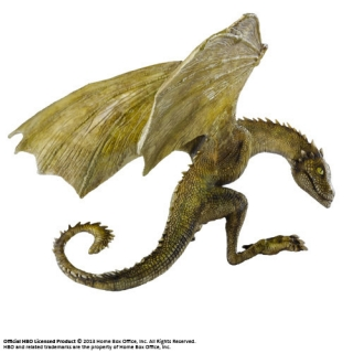 Game of Thrones - soška Rhaegal Baby Dragon 12 cm