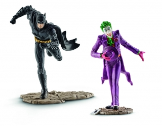 Justice League - figúrky Batman vs. The Joker 10 cm