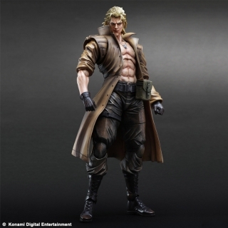 Metal Gear Solid - figúrka Play Arts Kai Liquid Snake 28 cm