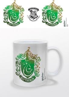 Harry Potter - hrnček Slytherin Stencil Crest 0,33l