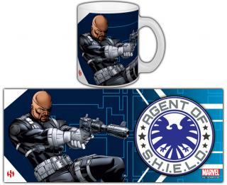 The Avengers - hrnček Nick Fury 0,30l