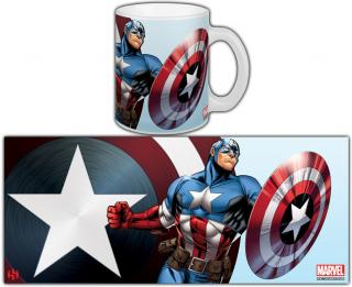 The Avengers - hrnček Captain America 0,30l