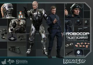 RoboCop - figúrka RoboCop Battle Damaged & Alex Murphy 30 cm