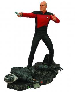 Star Trek Select - figúrka Captain Picard 18 cm
