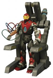 Marvel Select - figúrka Ultimate Iron Man 18 cm