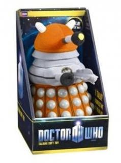 Doctor Who - plyšová figúrka Orange Dalek with sound 23 cm