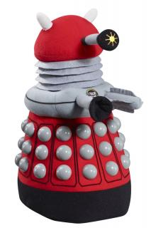 Doctor Who - plyšová figúrka Red Dalek with sound 38 cm