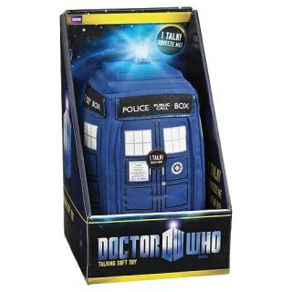 Doctor Who - plyšová figúrka Tardis with sound & light 38 cm