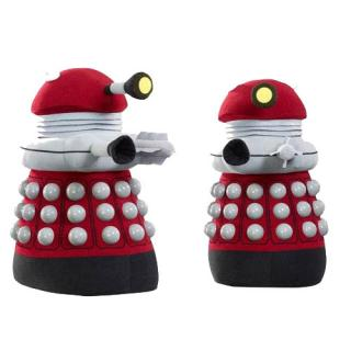 Doctor Who - plyšová figúrka Burgundy Dalek with sound & light 61 cm