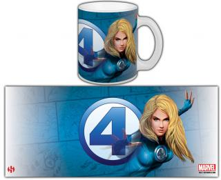 Fantastic Four - hrnček Invisible Woman 0,30l