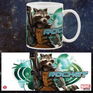 Guardians of the Galaxy - hrnček Rocket Raccoon 0,30l