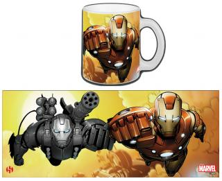 Iron Man - hrnček Invicible Duo 0,30l