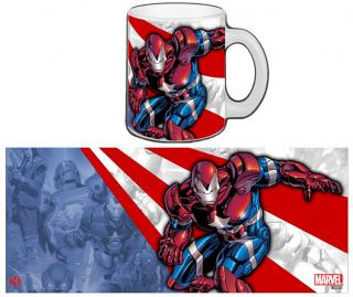 Iron Man - hrnček Iron Patriot 0,30l