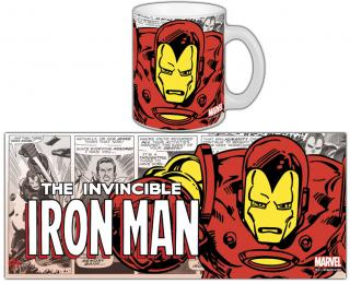 Marvel Comics Retro - hrnček Iron Man 0,30l