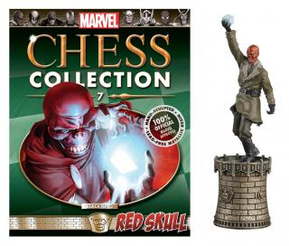 Marvel Chess Collection - figúrka a časopis #07 Red Skull (Black King)