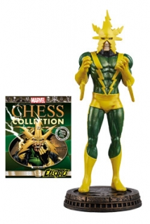 Marvel Chess Collection - figúrka a časopis #13 Electro (Black Pawn)