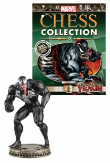 Marvel Chess Collection - figúrka a časopis #09 Venom (Black Pawn)