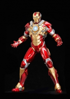 Iron Man 3 - vignette Mark XVII Heartbreaker 20 cm