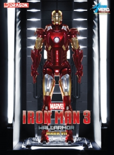 Iron Man 3 - vignette Mark VII Hall of Armor 20 cm