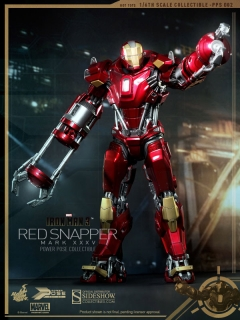 Iron Man 3 - figúrka Iron Man Mark XXXV Red Snapper 34 cm
