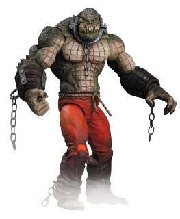 Batman Arkham City- figúrka Killer Croc 24 cm