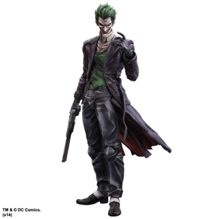 Batman Arkham Origins - figúrka Play Arts Kai The Joker 28 cm
