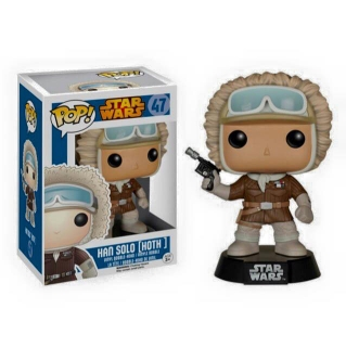 Star Wars POP! - bobble head Han Solo Hoth Outfit Exclusive 9 cm