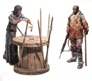 The Walking Dead - figúrky Morgan & Walker 13 cm