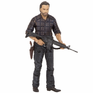 The Walking Dead - figúrka Woodbury Assault Rick 15 cm