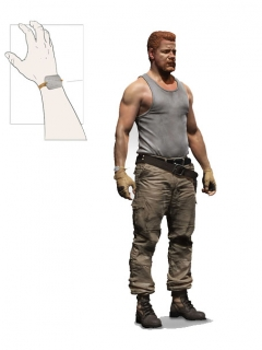 The Walking Dead - figúrka series 9 Abraham Ford 15 cm