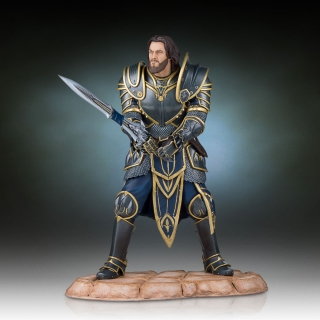 Warcraft The Beginning - socha Lothar 28 cm