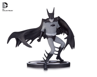 Batman Black & White - soška Batman (Tony Millionaire) EE Exclusive 15 cm
