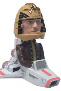 Battlestar Galactica - bobble head Viper with Apollo 14 cm