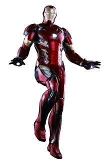 Captain America Civil War - figúrka Iron Man Mark XLVI Power Pose 31 cm