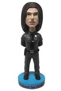 Dexter - bobble head Lt. Debra Morgan 18 cm