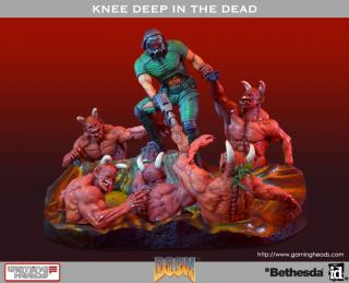 Doom - diorama Knee Deep In The Dead 32 cm
