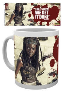 Walking Dead - hrnček Michonne 0,30l