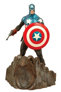 Marvel Select - figúrka Captain America 18 cm