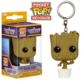Guardians of the Galaxy Pocket POP! - vinylová kľúčenka Dancing Groot 4 cm