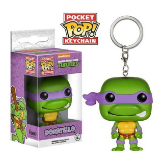 Teenage Mutant Ninja Turtles POP! - vinylová kľúčenka Donatello 4 cm