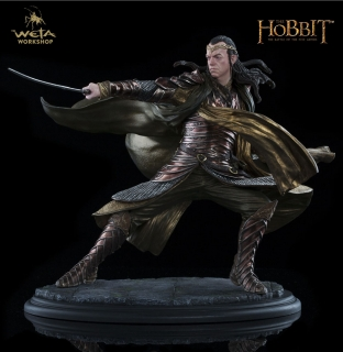 The Hobbit - socha Lord Elrond at Dol Guldur 29 cm