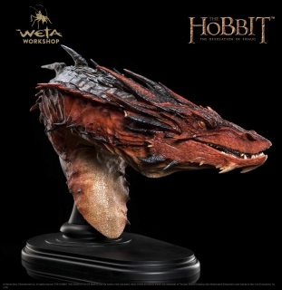 The Hobbit The Desolation of Smaug - busta Smaug 36 cm