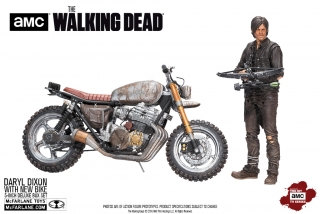 The Walking Dead - figúrka Daryl Dixon with Chopper Season 5/6 13 cm